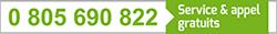 Numéro vert 0 805 690 822